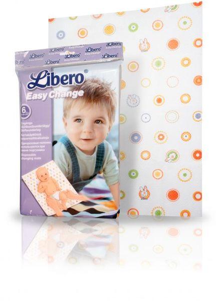 Либеро Еднократни бебешки чаршафчета 6бр